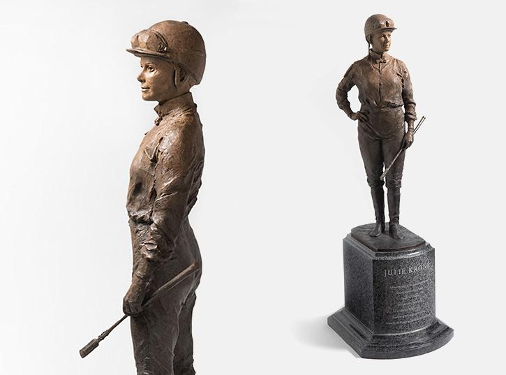 Julie Krone Statue