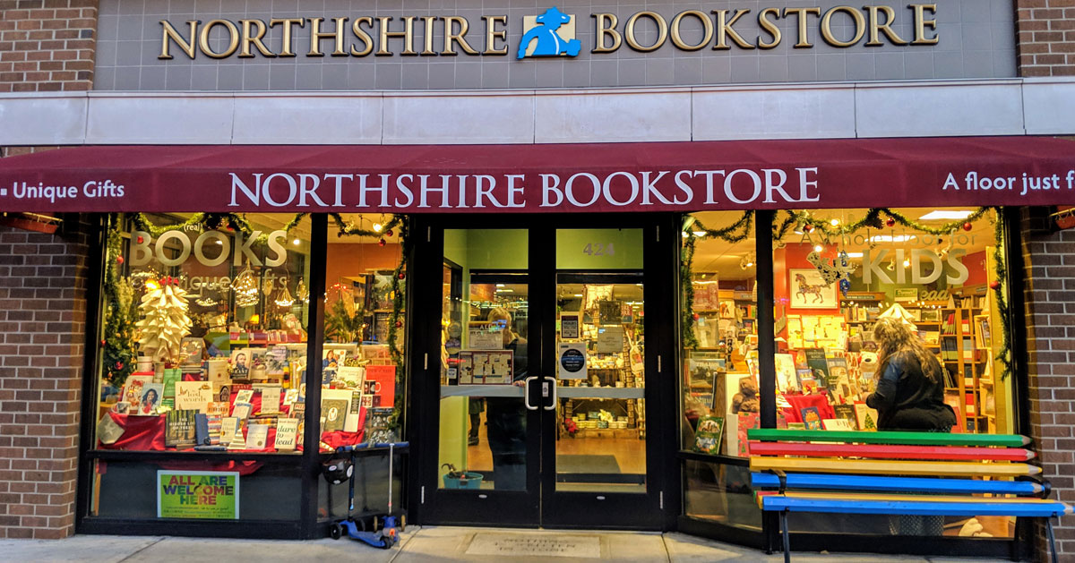 entrance to Northshire Bookstore