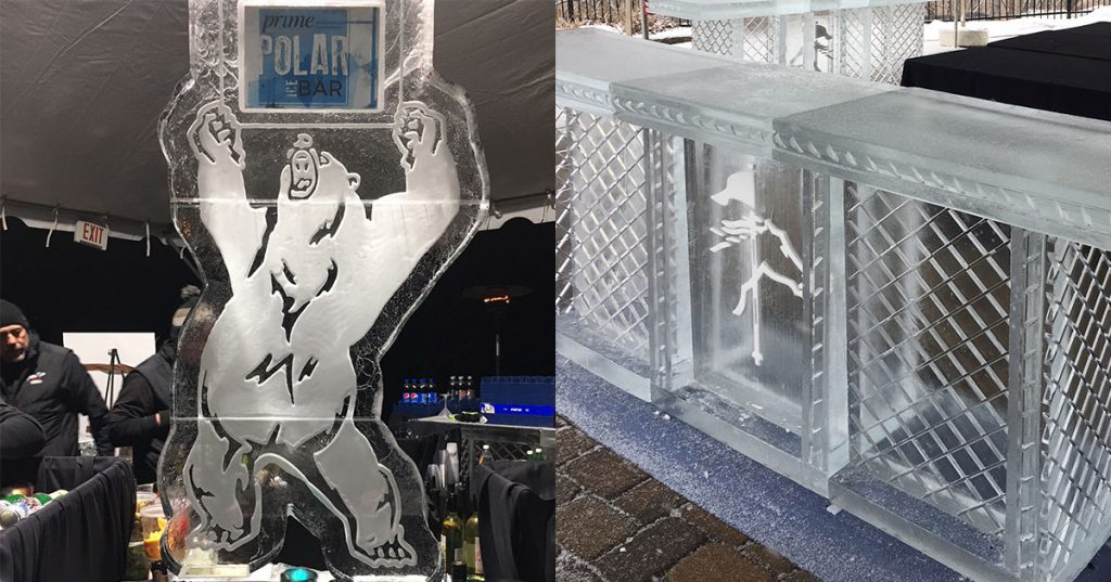 prime polar ice bar photo collage