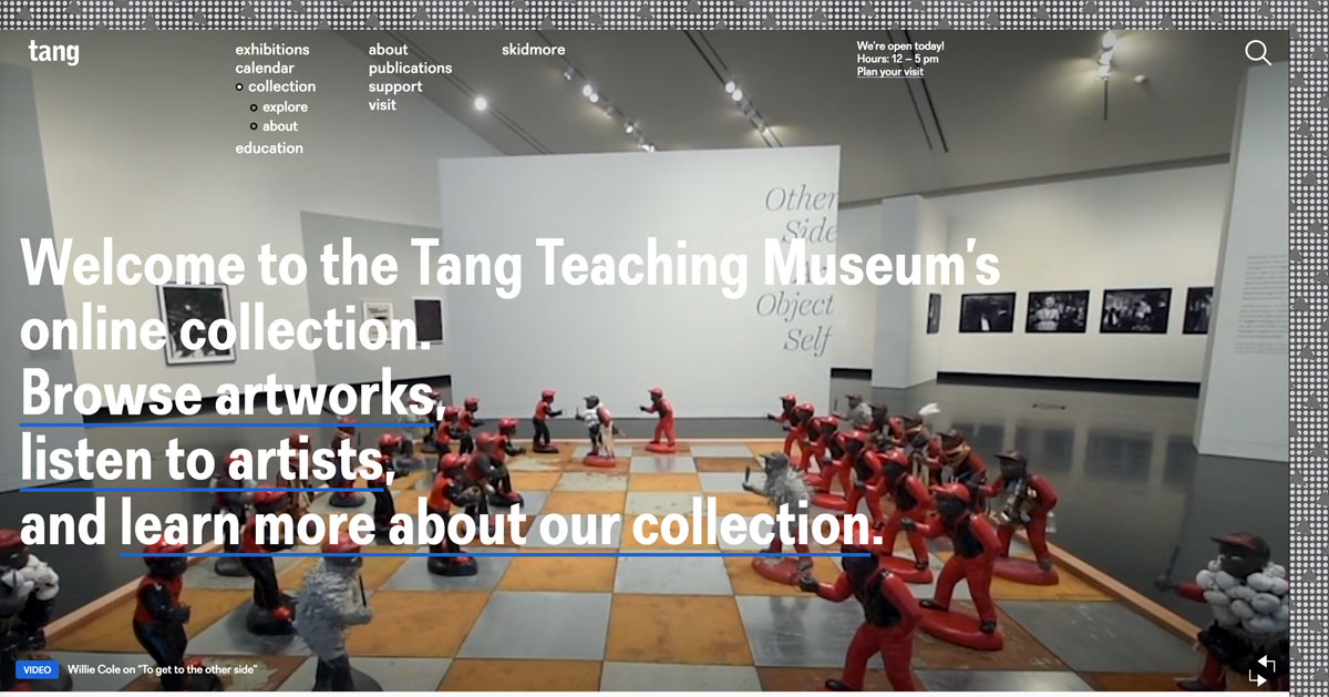Tang website screen grab