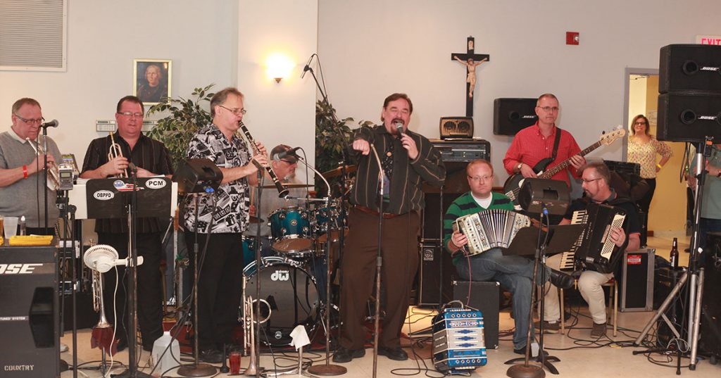 polka band performing