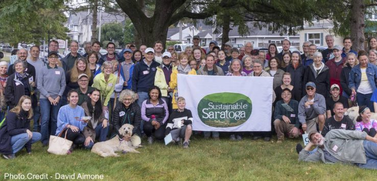 sustainable saratoga group photo