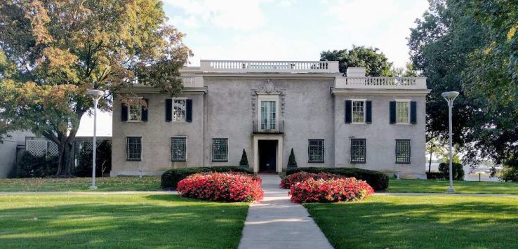 exterior of the hyde house
