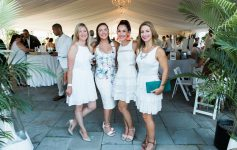 Saratoga Bridges 'The White Party' gala attendees