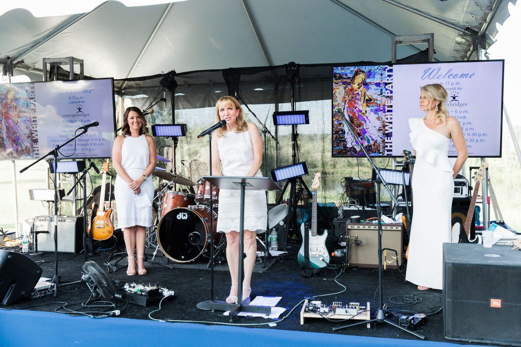 Benita Zahn at Saratoga Bridges The White Party