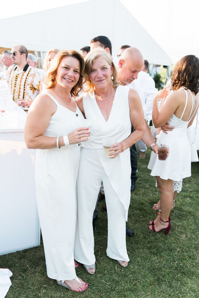 The White Party attendees