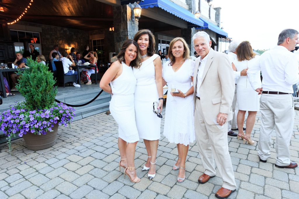 White Party attendees