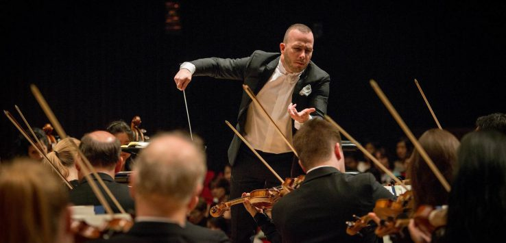 nezet-seguin conducts the orchestra