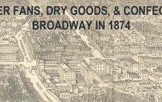map of broadway in the 19th century