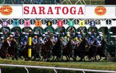 horse race in saratoga