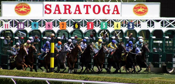 horse race in saratoga