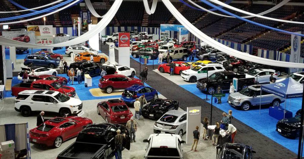 indoor auto show
