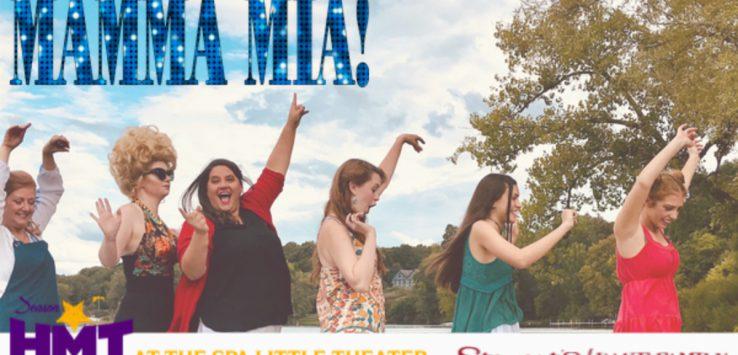 event promo for mamma mia