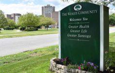 wesley community sign