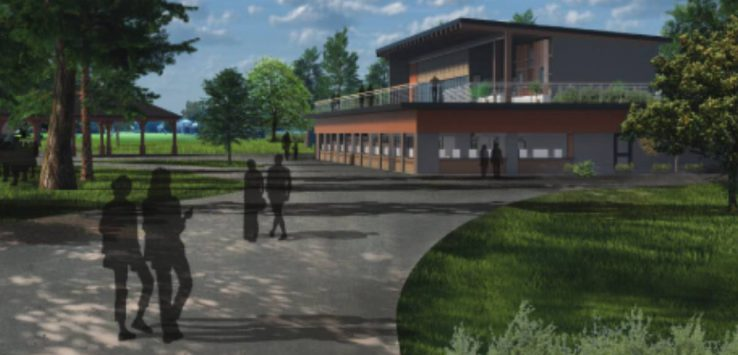 rendering of new spac building