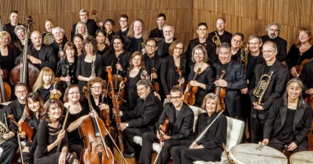 orchestra group photo