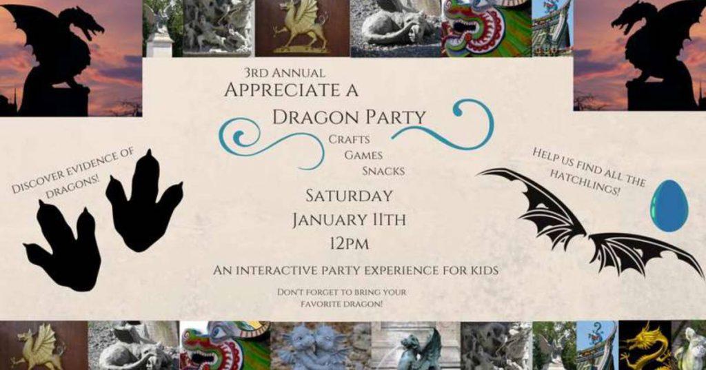 dragon party promo