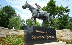 saratoga horse statue