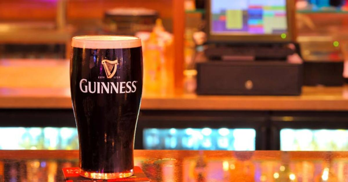 glass of guinness on table