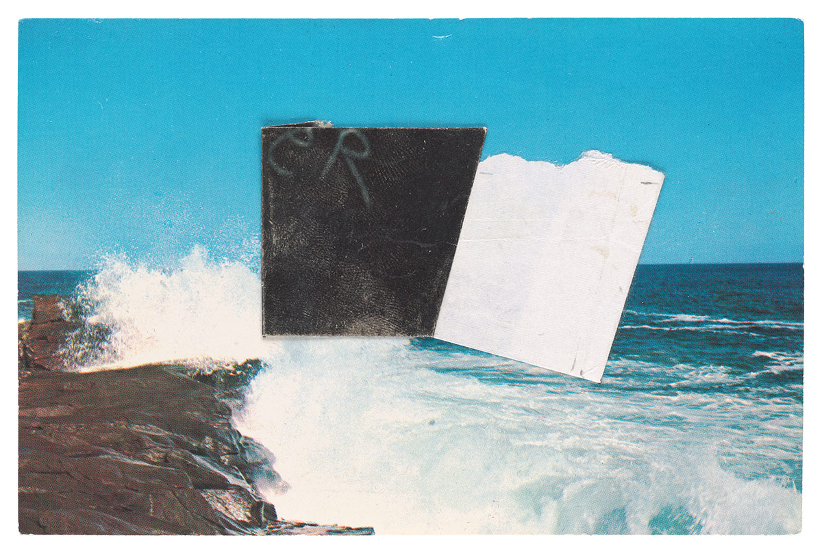 postcard painting by ellsworth kelly
