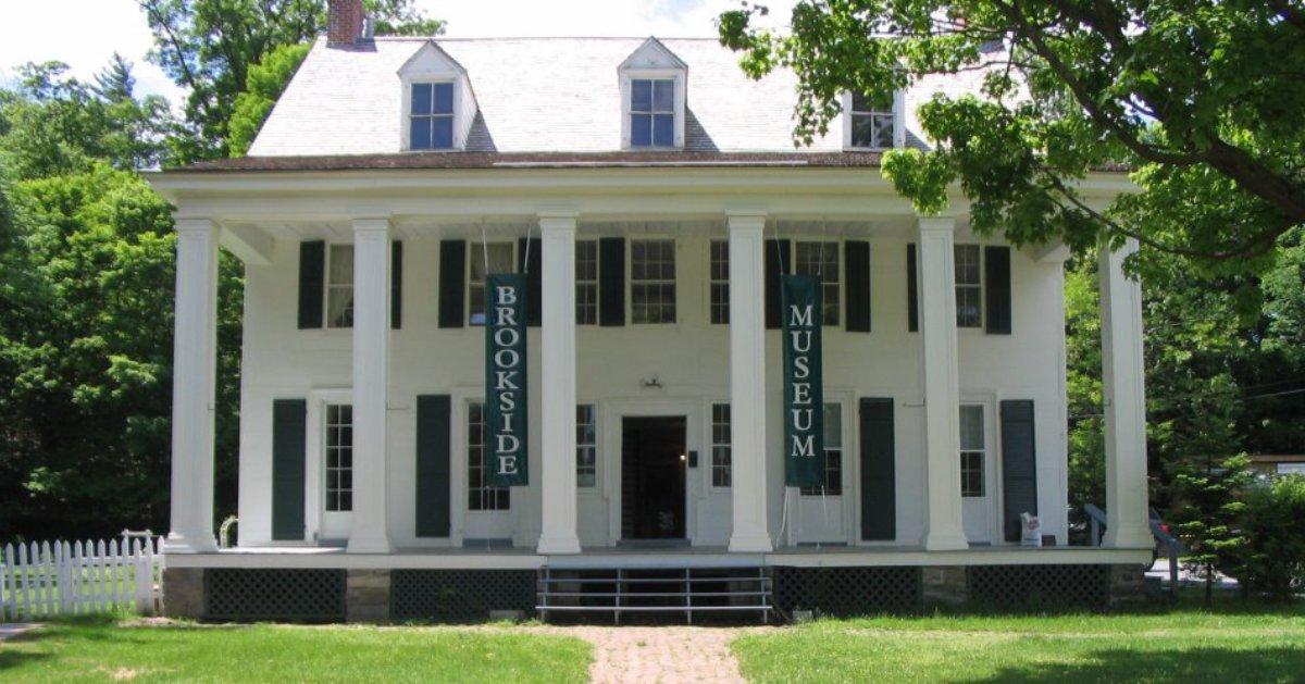 exterior of brookside museum