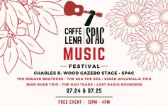 caffe lena at spac event poster