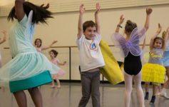 kids participating in a dance workshop