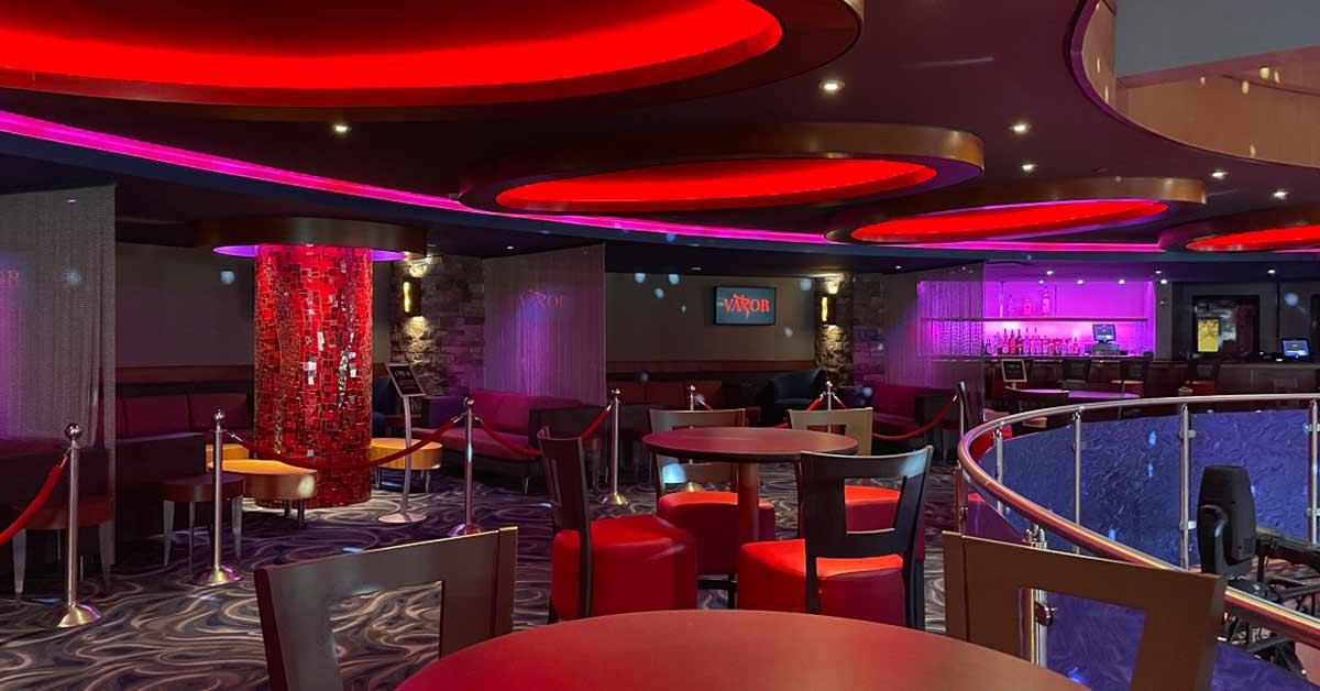 new vapor nightclub upstairs