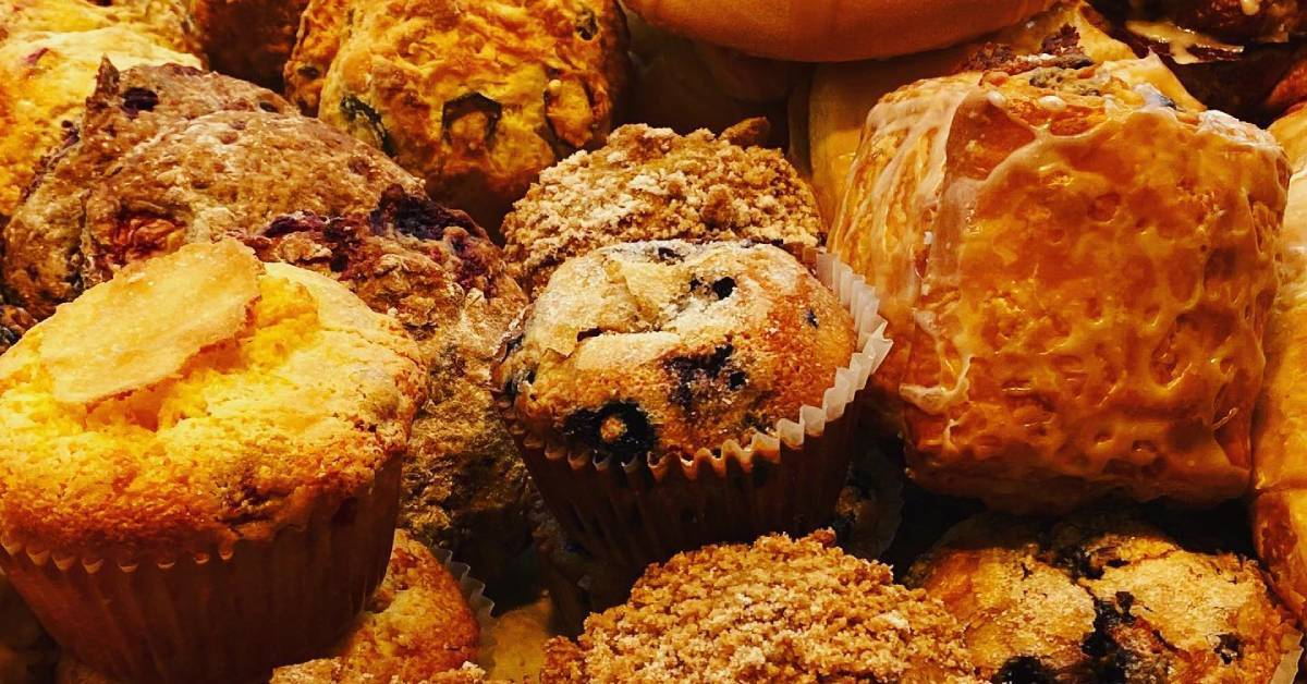 collection of baked goods